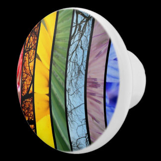 Nature Rainbow LGBT Pride Symbol Cabinet Knob