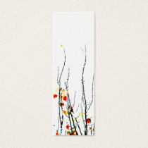 Nature recycles bookmark