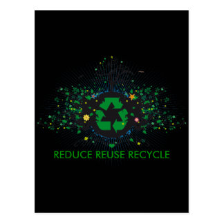 Nature Recycles Postcard