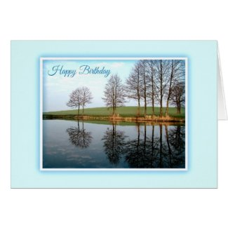 Nature Reflections Birthday Card Cards