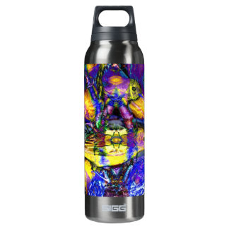 Nature Reflections II - Violet & Gold Birds SIGG Thermo 0.5L Insulated Bottle