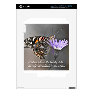 Nature reflects the Beauty of its... Decal For iPad 3