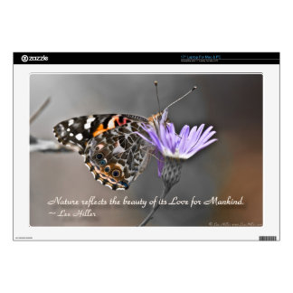 Nature reflects the Beauty of its... Skins For Laptops
