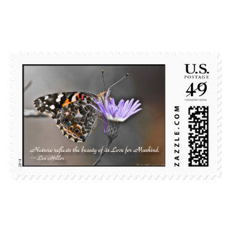 Nature reflects the Beauty of its... USPS Stamps
