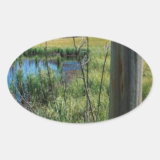 Nature Reserve Wilderness Water Hole Sticker