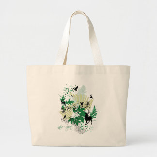 Nature=Respect Large Tote Bag