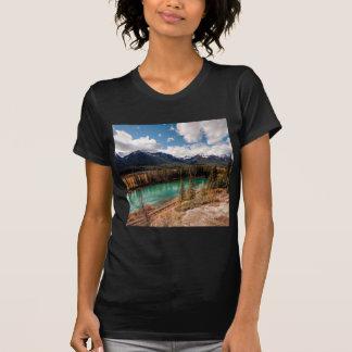 Nature River Blue Lagoon Mountains Shirt