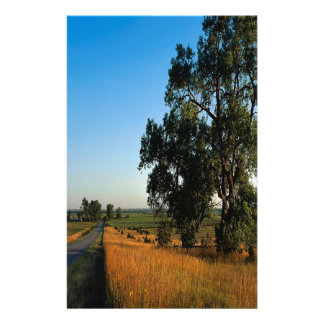 Nature Road Farmers County Customized Stationery
