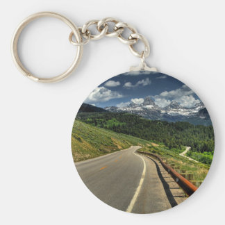 Nature Road Mountian Valley Key Chain