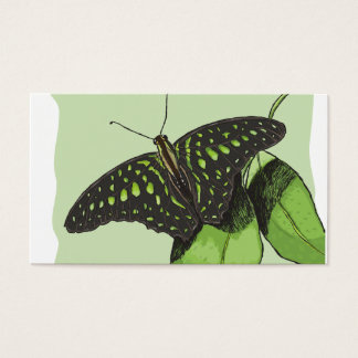 Nature's Camouflage Butterfly Business Card