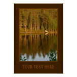 Nature's Reflections custom poster