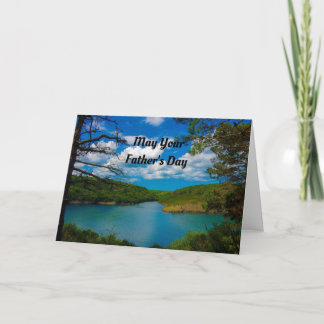 Nature Scene Father's Day Card
