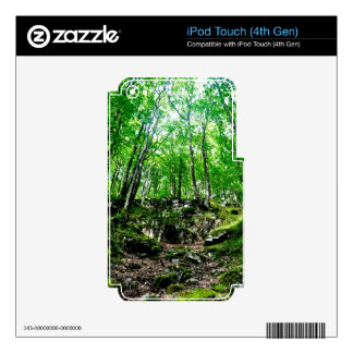 Nature Scenery Forest Walks in the UK Decals For iPod Touch 4G
