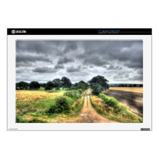 "Nature Scenery Forest Walks in the UK Skin For 17"" Laptop"