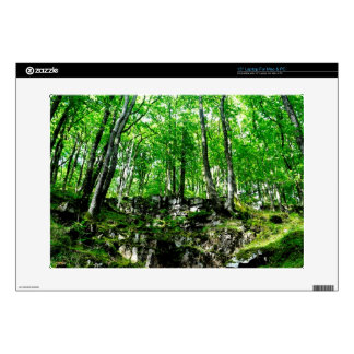 "Nature Scenery Forest Walks in the UK Skins For 15"" Laptops"