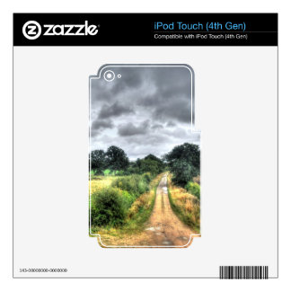 Nature Scenery Forest Walks in the UK Skins For iPod Touch 4G