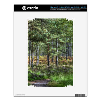 Nature Scenery Forest Walks in the UK Skins For NOOK