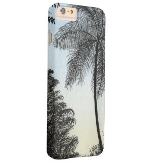 Nature silhuette barely there iPhone 6 plus case