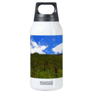 Nature Sky Blue Tree Hills SIGG Thermo 0.3L Insulated Bottle