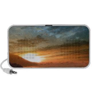 Nature Sky Sunlit Horseshoe Falls PC Speakers
