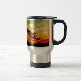Nature Sky Sunlit Night Fall Mug