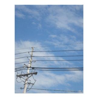 Nature Skyline NewJersey USA Cloud GIFTS nvn673 fu Letterhead
