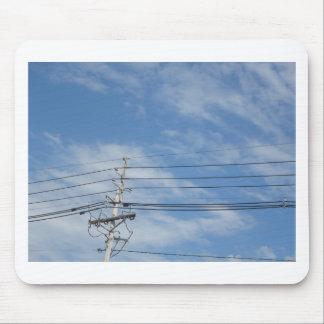 Nature Skyline NewJersey USA Cloud GIFTS nvn673 fu Mouse Pad