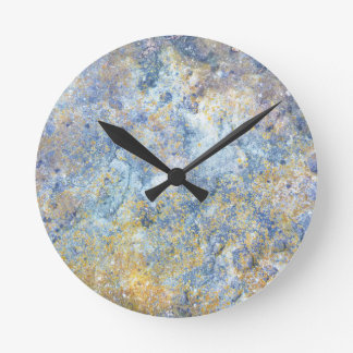 Nature Slate Stone Rock Photograph Wall Clock