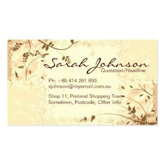 Nature Softness Business Card