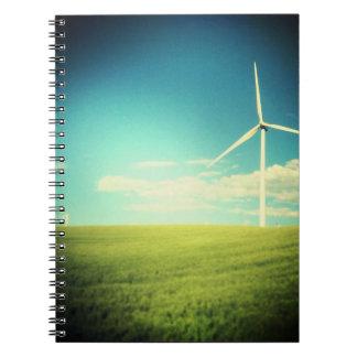 Nature Spiral Notebook