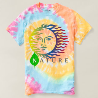 Nature' Spiral Tie-Dye T-Shirt