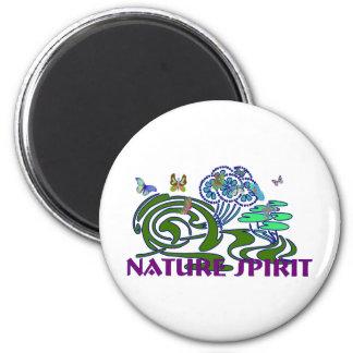 Nature Spirit 2 Inch Round Magnet