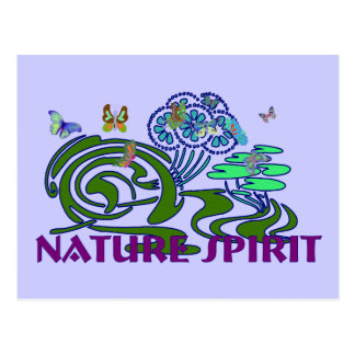 Nature Spirit Postcard
