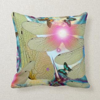 Nature spirits throw pillows