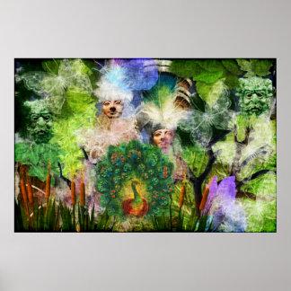 Nature Spirits Poster