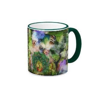 Nature Spirits Ringer Coffee Mug