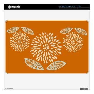 Nature Spring Summery  Floral Design MacBook Skins
