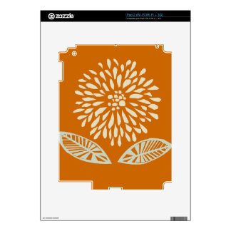 Nature Spring Summery  Floral Design Skins For The iPad 2
