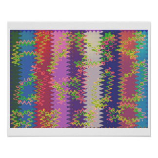 Nature Spring Waves Poster