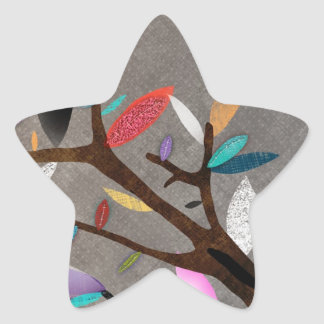 Nature star Sticker