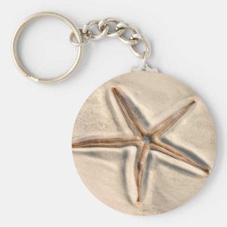 Nature Starfish Keychains