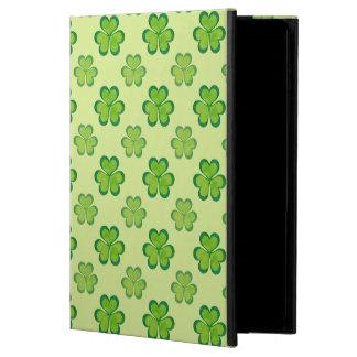 Nature Stylish Green Lucky Shamrock Clover Pattern Powis iPad Air 2 Case