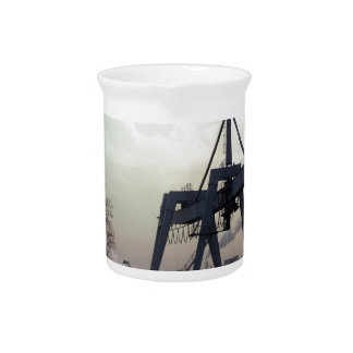 Nature Sunset Fine Night Industrial Beverage Pitchers
