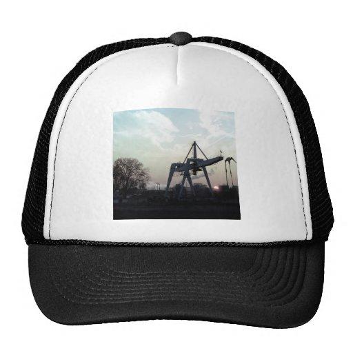 Nature Sunset Fine Night Industrial Trucker Hat