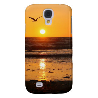 Nature Sunset Ocean Boulevard Galaxy S4 Case