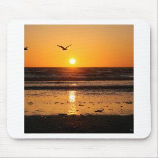 Nature Sunset Ocean Boulevard Mouse Pad