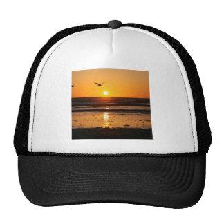Nature Sunset Ocean Boulevard Trucker Hat