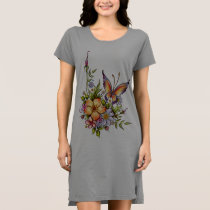 **Nature T-Shirt Dress