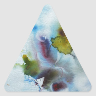 Nature Takes its Course... Triangle Sticker