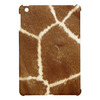 Nature Textured Photo Giraffe Animal Print Pattern Cover For The iPad Mini